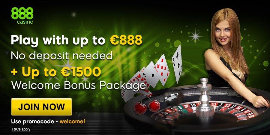 888 Casino - Deposit $25 & Play With $50 100% Up To $200 BONUS!